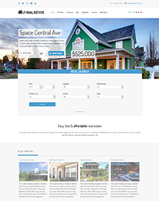 LT Real Estate – Free Homes for Sales, Real Estate Joomla template