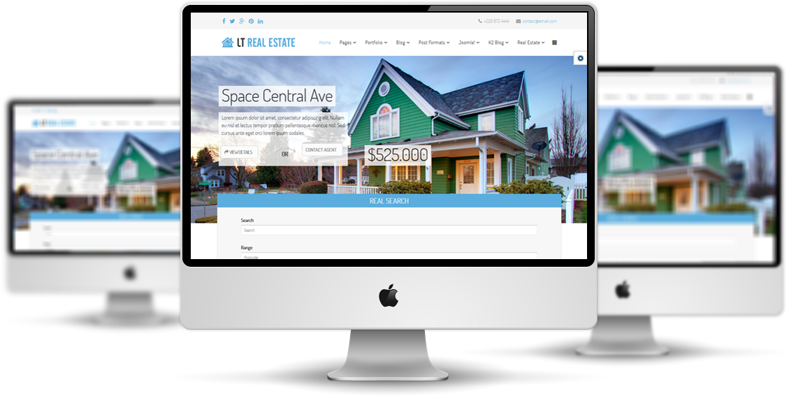 LT Real Estate Joomla! template