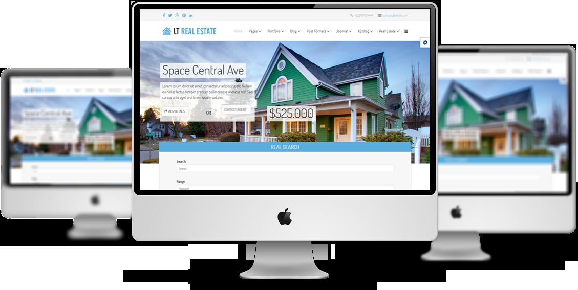LT Real Estate - Free Homes for Sales, Real Estate Joomla