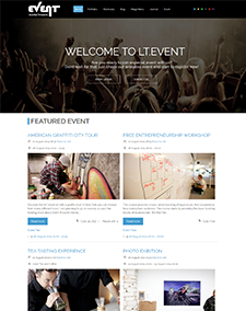 LT Event – Free Ohanah Event Joomla template