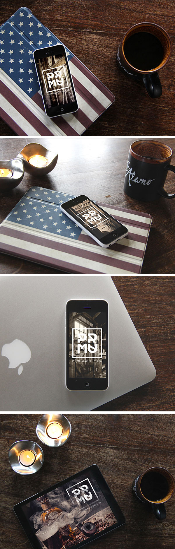 iPhone & iPad Photo MockUps