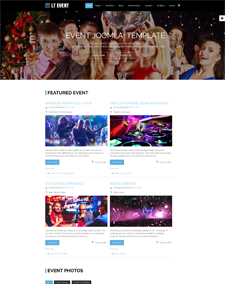 LT Event – Free Ohanah Event Joomla template