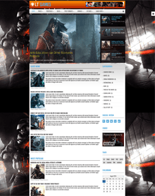 LT Games – Free Magazine / News Games Joomla template