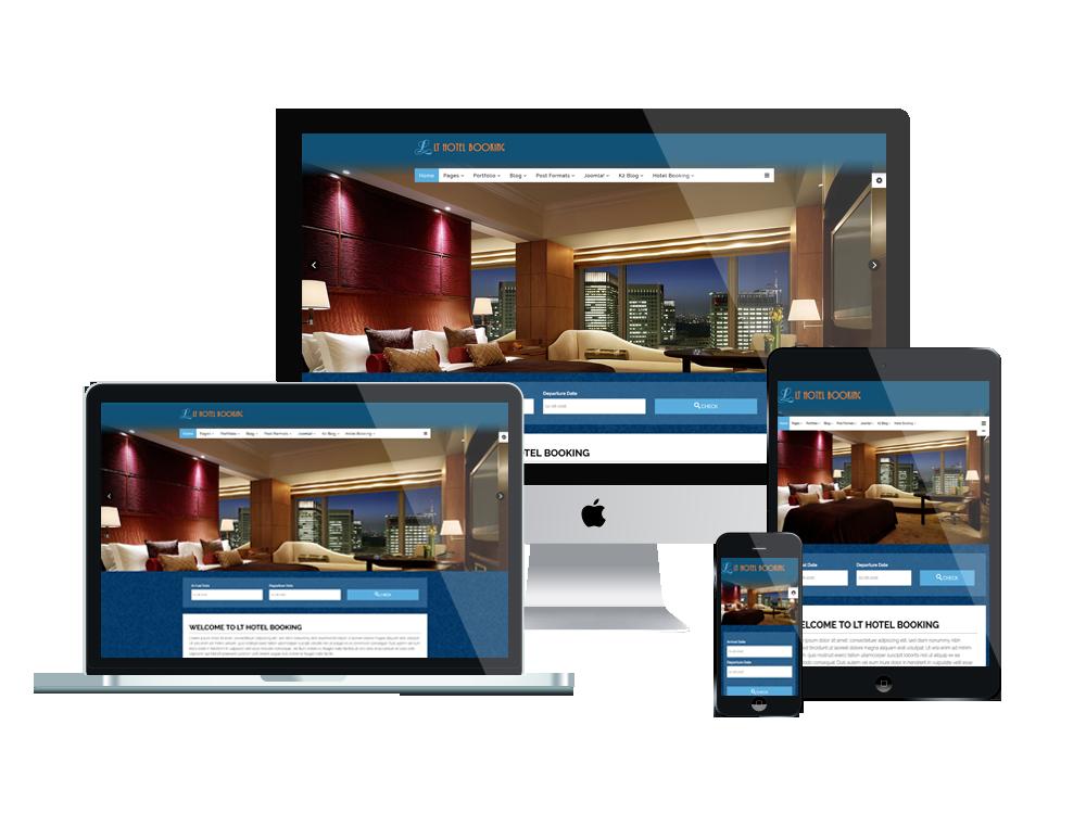 LT Hotel Booking - Free Joomla Hotel Booking template