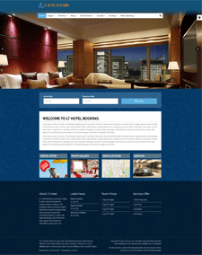 LT Hotel Booking – Free Responsive Hotel Booking WordPress theme