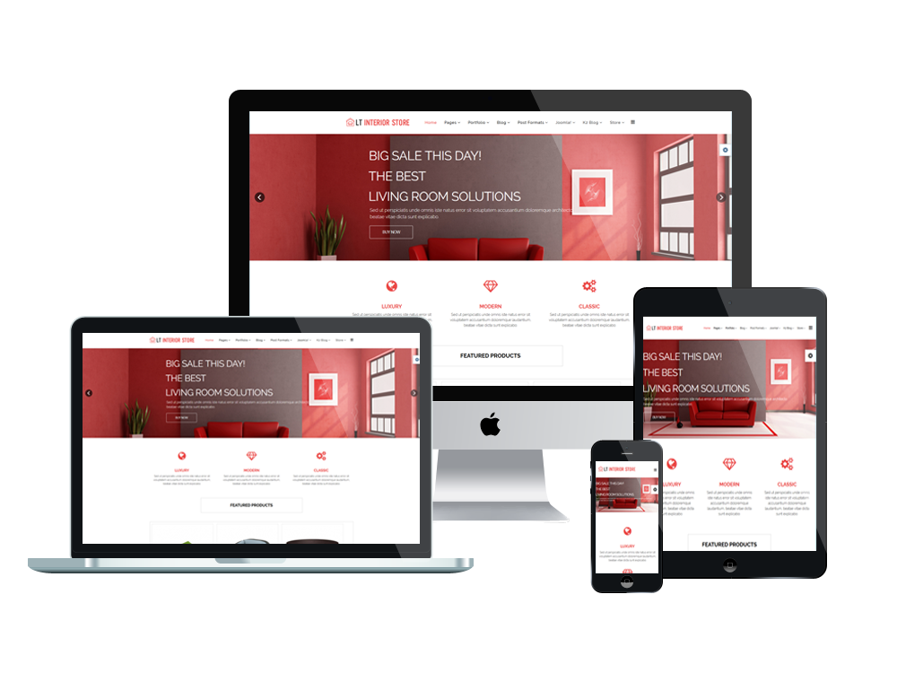 mobile friendly web templates