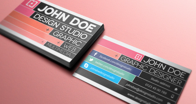 Creative Business Card Vol - Web design business cards templates