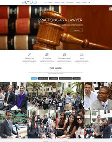 LT Law Onepage Responsive Joomla template