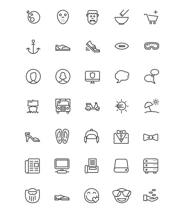 Icons Mind: 100 Free Vector Icons