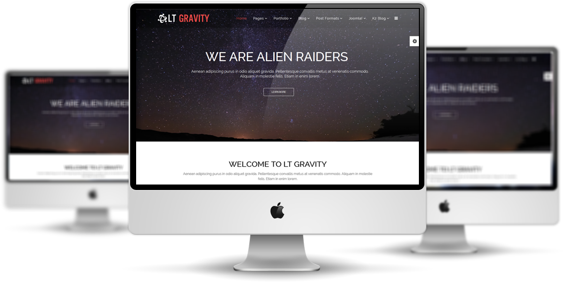 LT Gravity Joomla! template