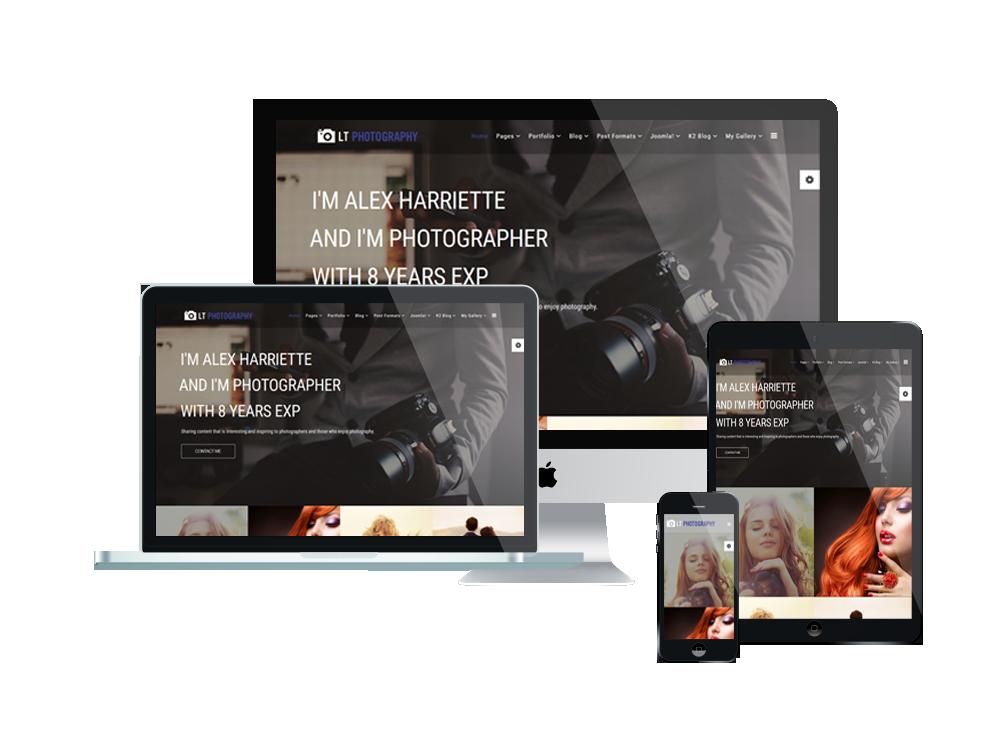 photography joomla template responsive joomla and wordpress themes