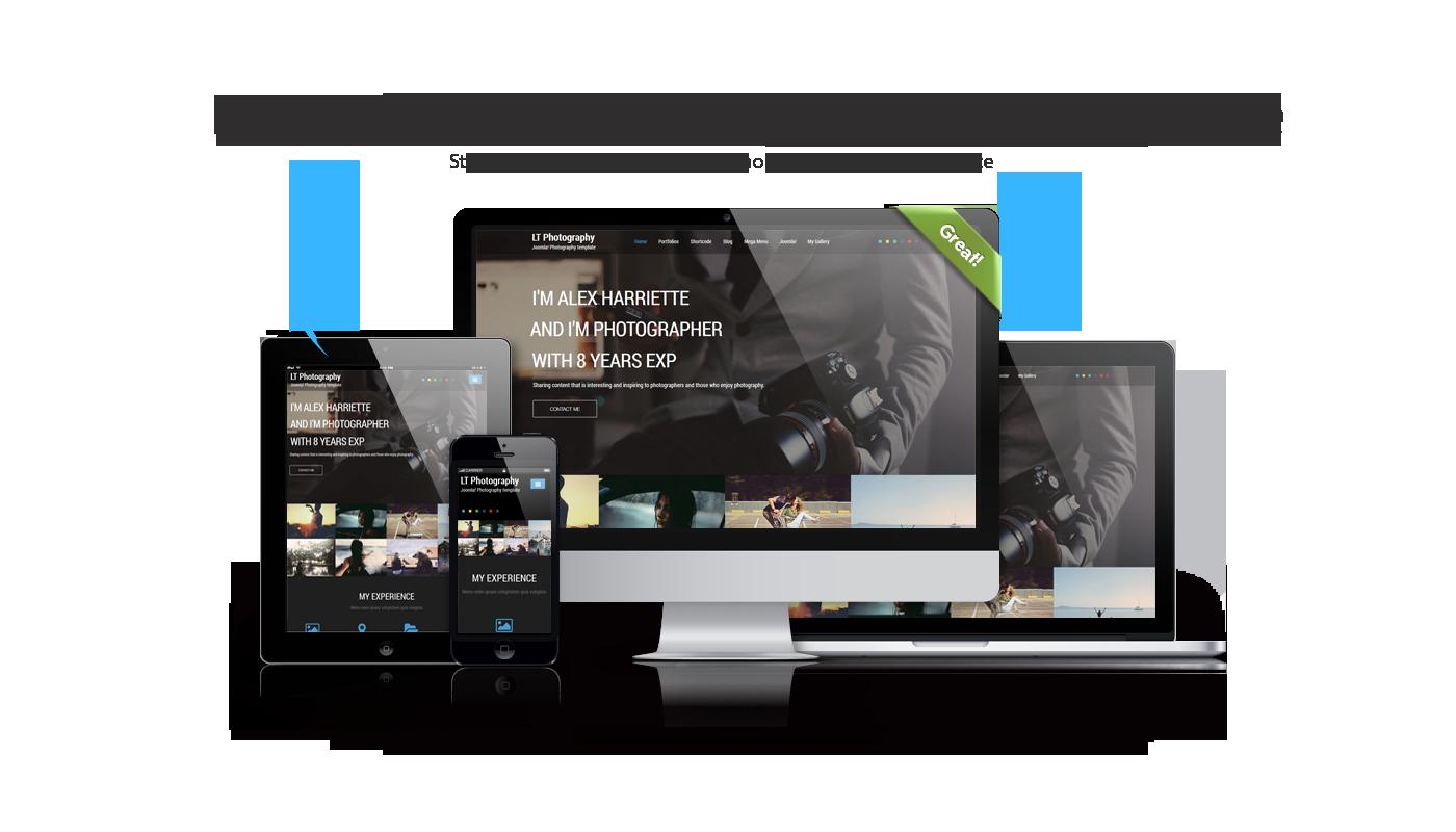 Joomla Photography Template Free - Costumepartyrun
