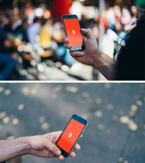photorealistic iphone 6 free psd mockups - Iphone 5s Mockup Free