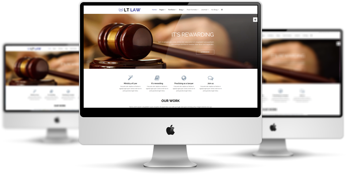 lt law free joomla law firm template