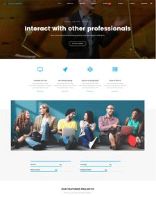 LT Social Company – Free Joomla Social Network template