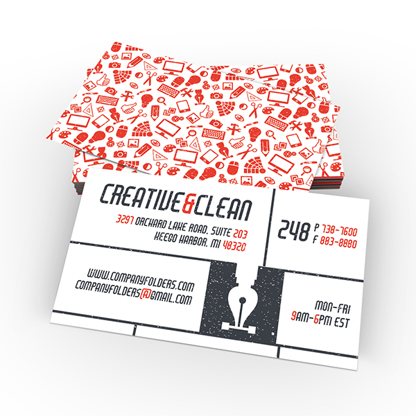 Creative Clean business card ltheme