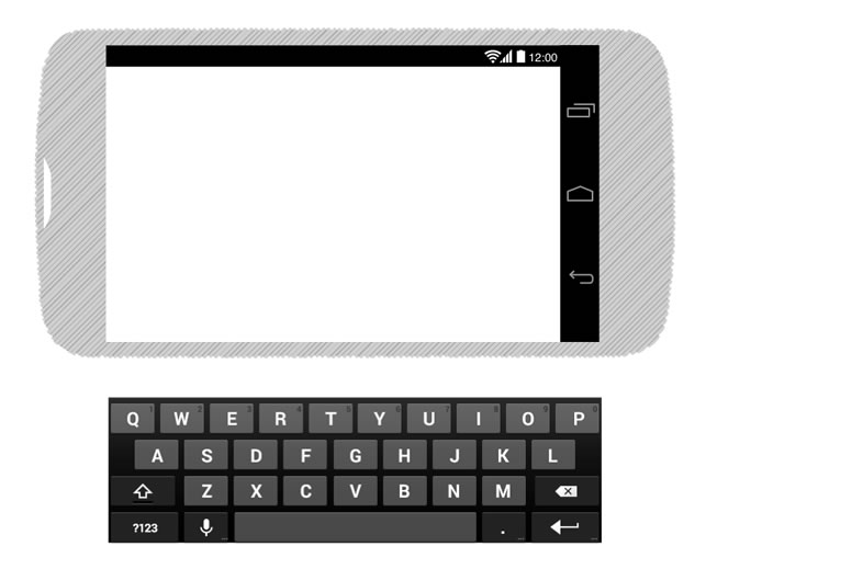 15Android 4 Black Wireframing Stencil