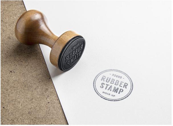 1Rubber Stamp PSD MockUp