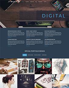 LT Art Studio Onepage – Responsive Joomla template