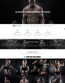 LT Fitness Onepage – Free Responsive Fitness / Gym Onepage WordPress theme