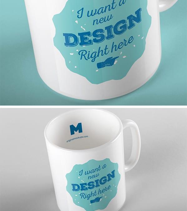 Mug PSD MockUp Free Download