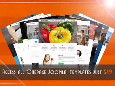 Onepage Joomla! bundle