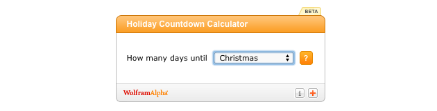 3 Counting down to the holidays