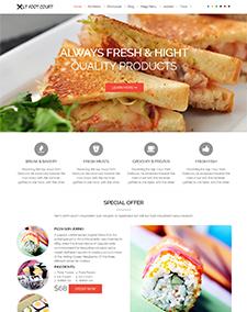 LT Food Court – Free Food Order / Food Court Joomla template