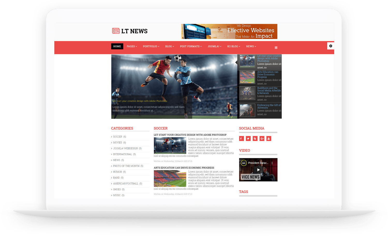 LT-News-Joomla-template