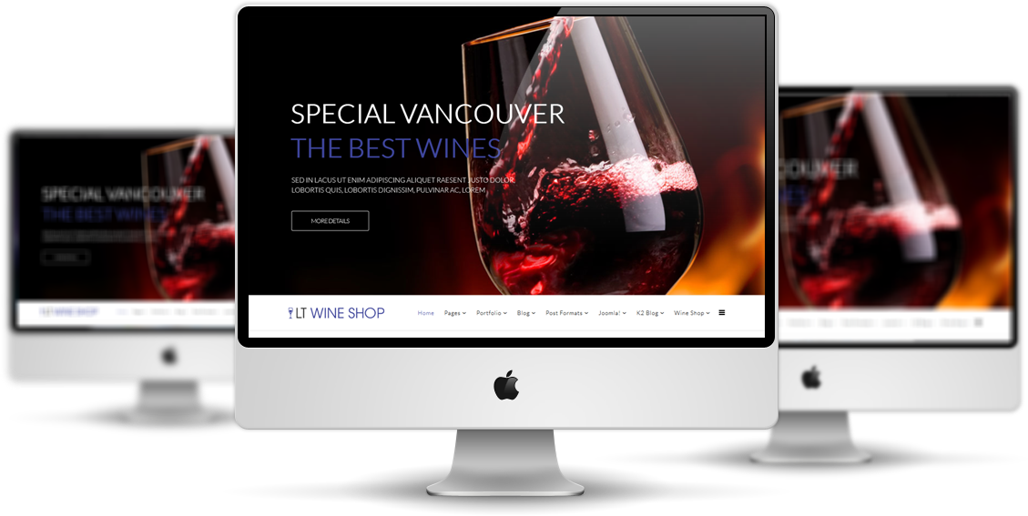 LT Wine Shop Joomla! template