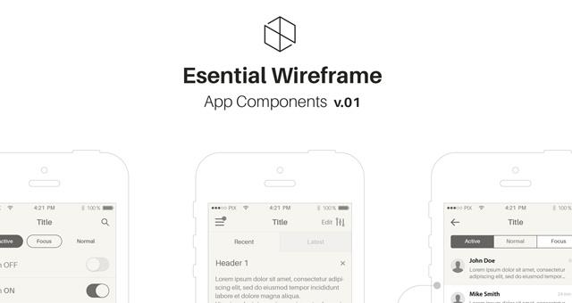mobile ios wireframe app stencil v1. Black Bedroom Furniture Sets. Home Design Ideas