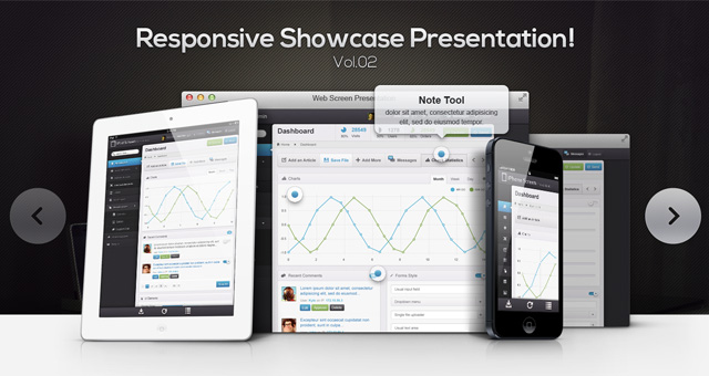 Responsive-Showcase-Psd-Vol2