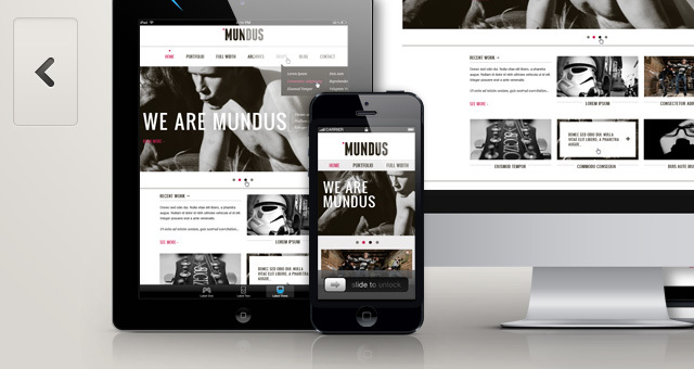 Responsive-Showcase-Psd