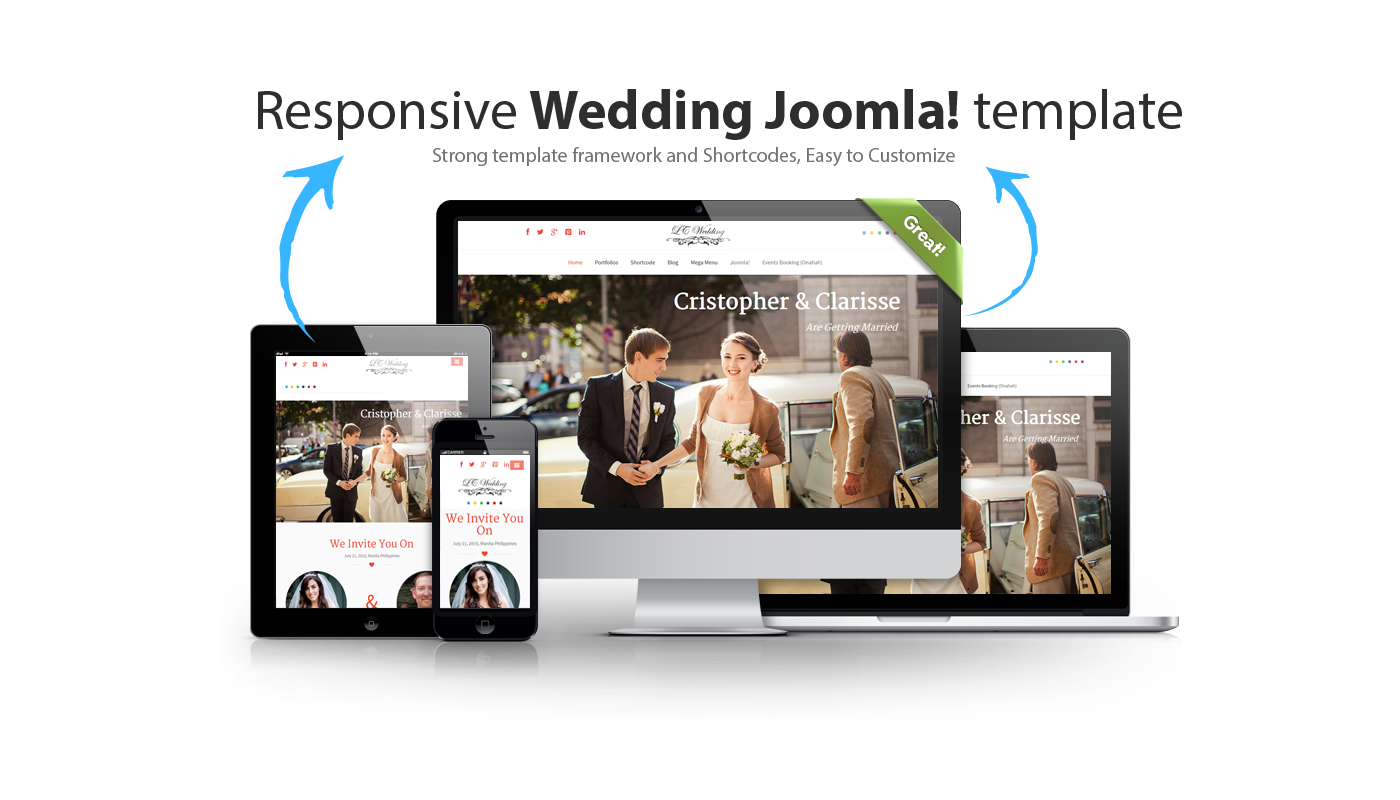 LT Wedding – Responsive Wedding Planner Joomla Template - Themesnap