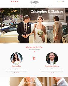 LT Wedding – Free Responsive Wedding Onepage Joomla template