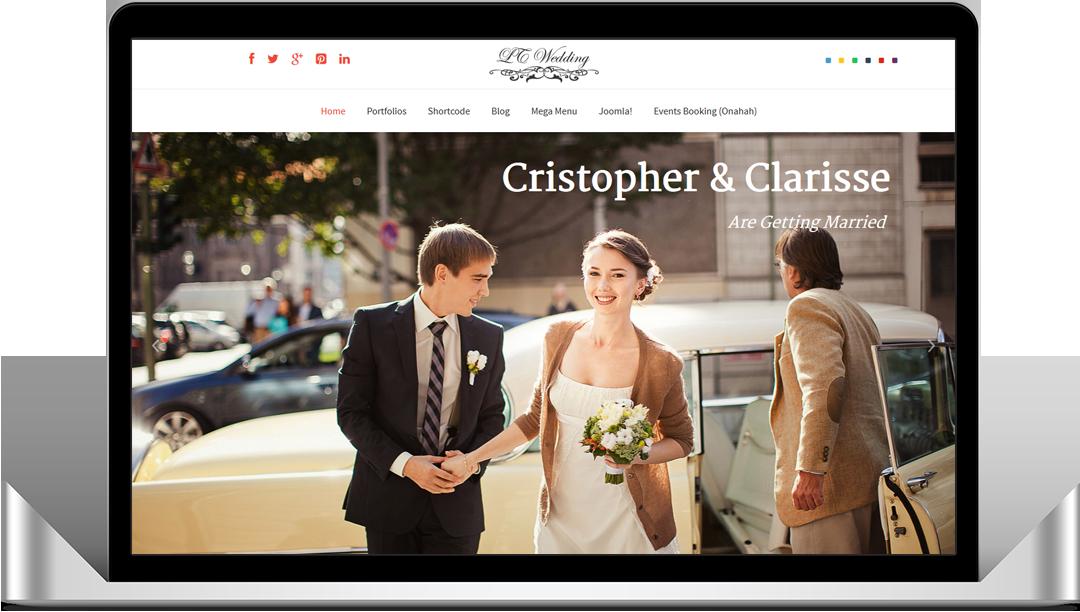 Awesome Wedding Blog Template