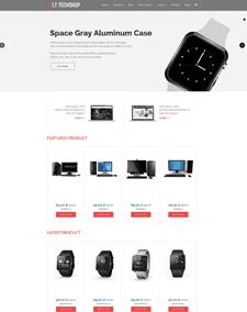 LT Tech Shop – Free Tech Store / Tech Shop Joomla template