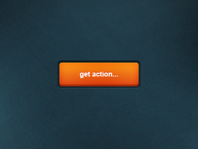 10Orange Button Free PSD