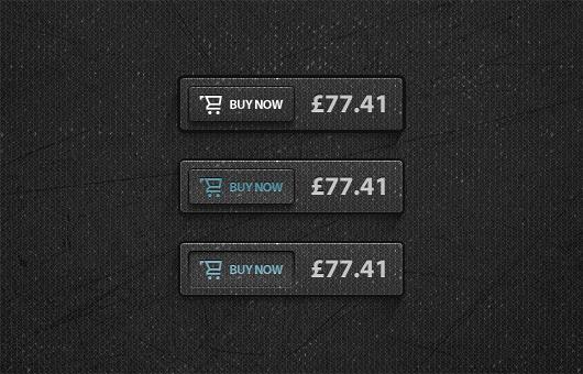 13Dark Buy Now Button Free PSD