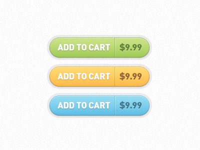 15Add to Cart Buttons Free PSD
