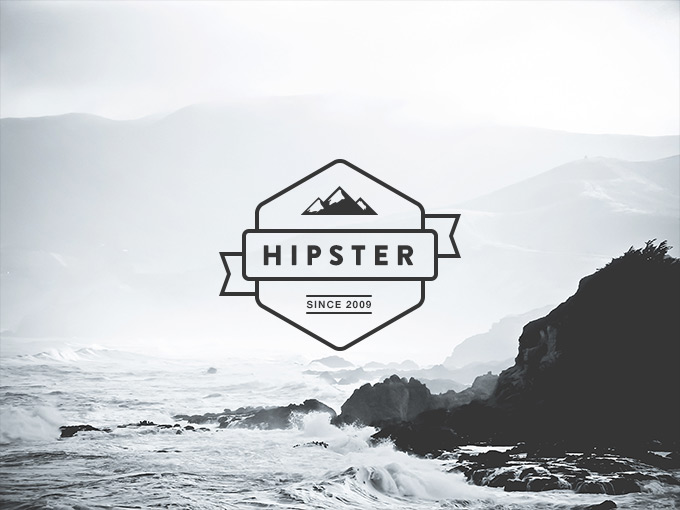 16Hipster Logo Creator Pack Free PSD