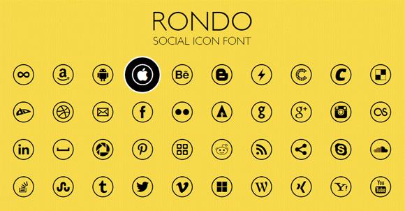 19Gorgeous Free Icon Fonts