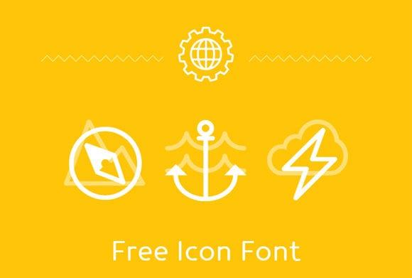 1Gorgeous Free Icon Fonts