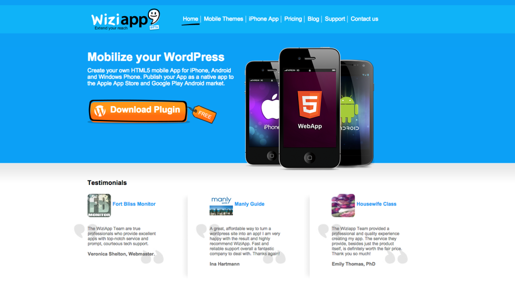 3How to Easily Convert WordPress Sites into Mobile Apps