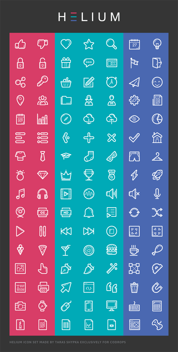 4Gorgeous Free Icon Fonts