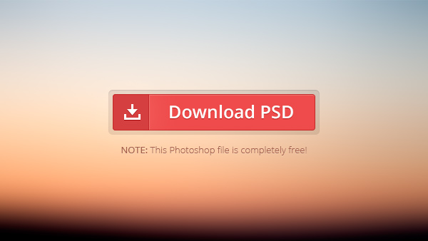 4Red Download Button Free PSD