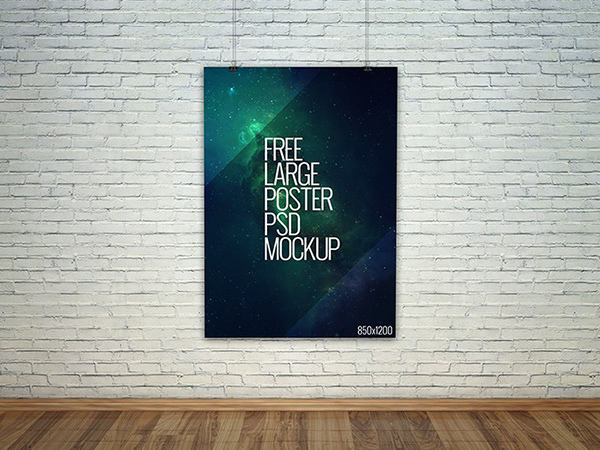 9free-large-poster-psd-mockup