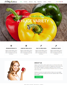 LT Agriculture – Free Responsive Farmer / Fruits Joomla template