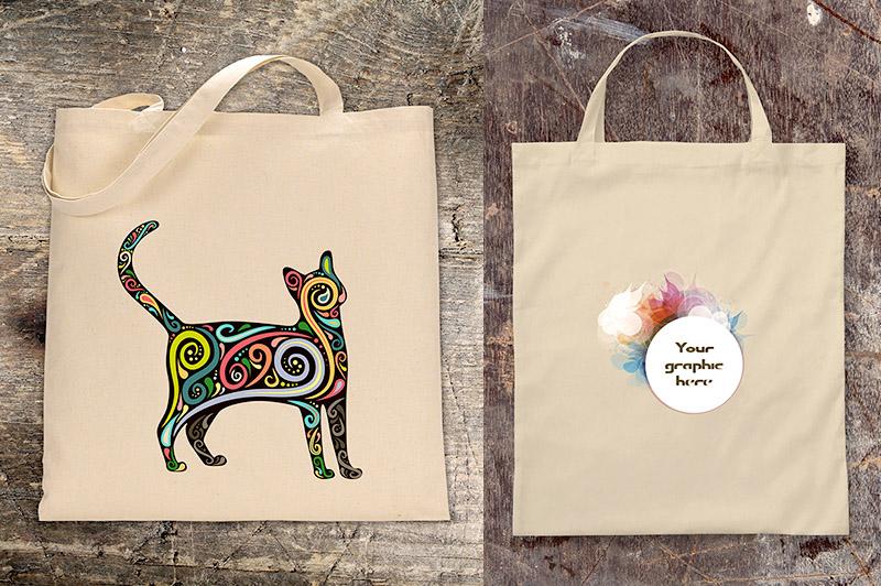 Free Canvas Bag MockUp Template