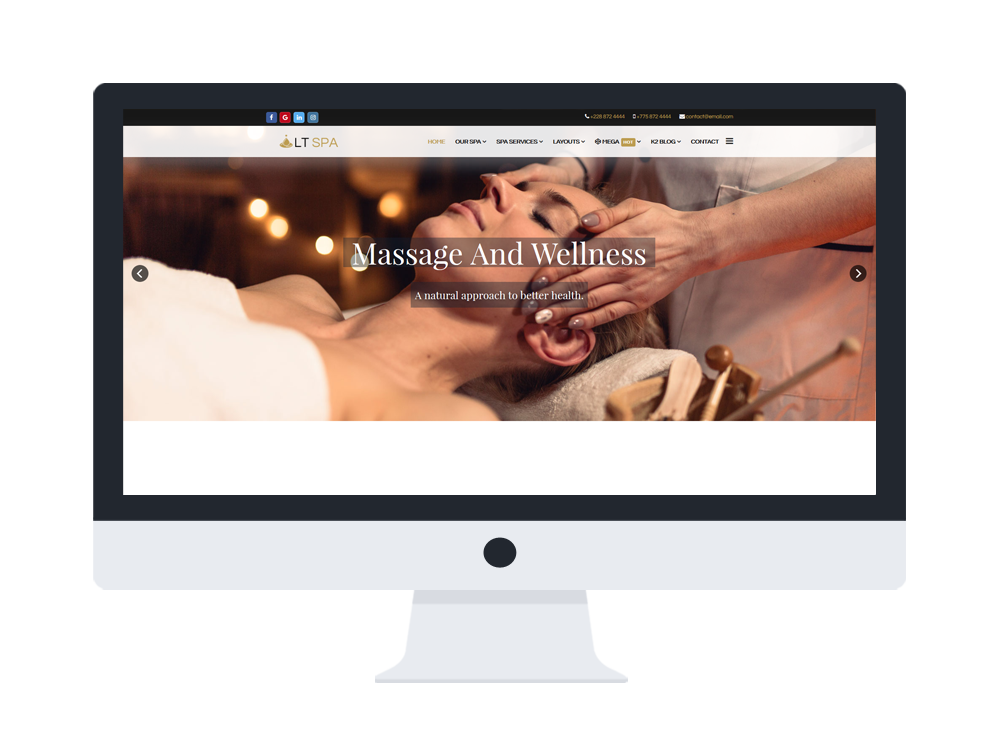 joomla free spa template hikashop